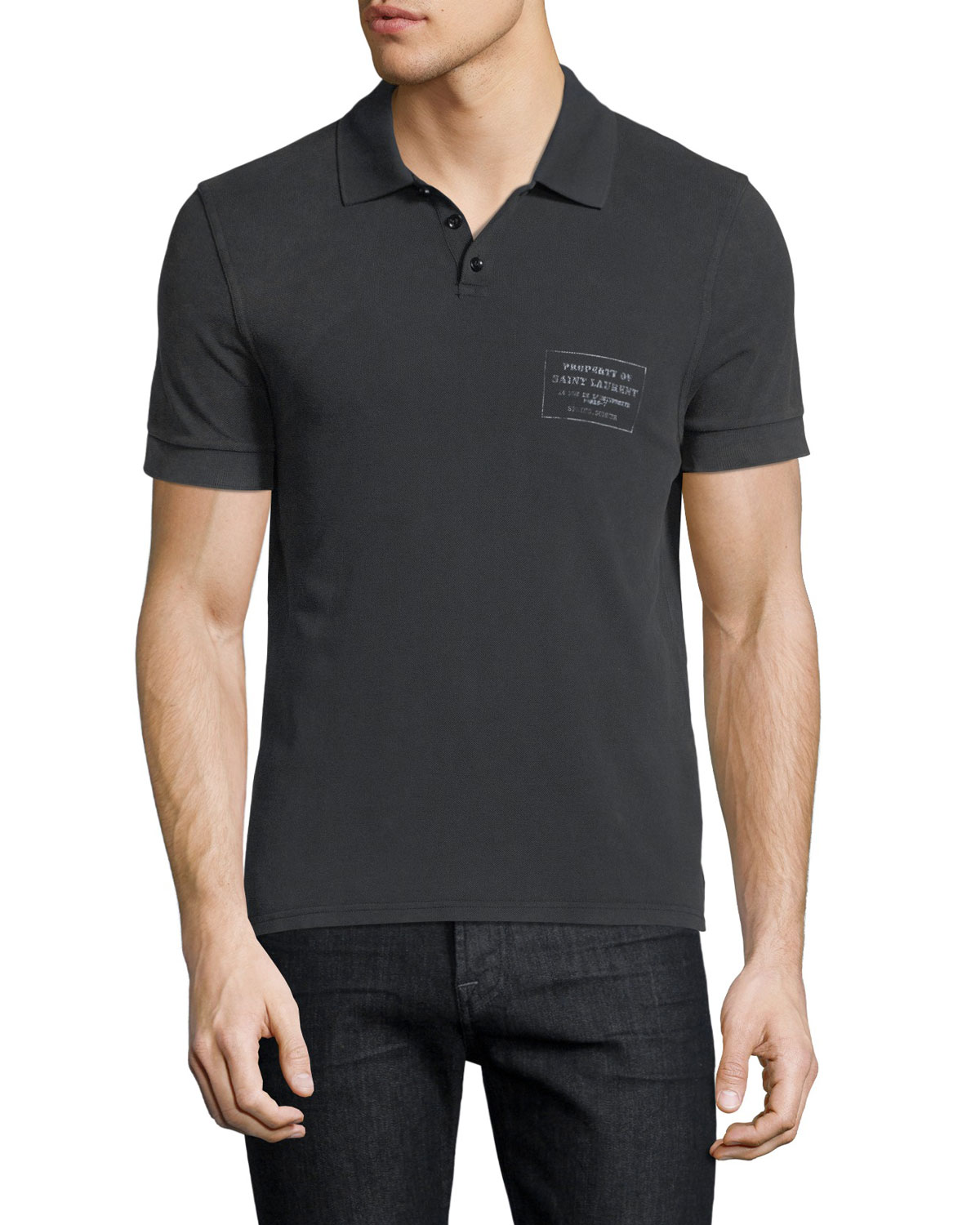 Logo-Box Polo Shirt