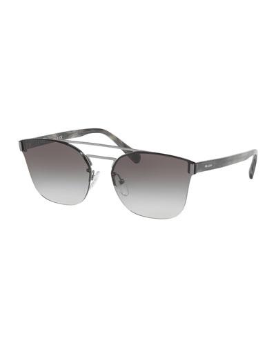 Square Aviator Sunglasses