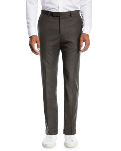 Zaine Tailored Flannel Suit Pants