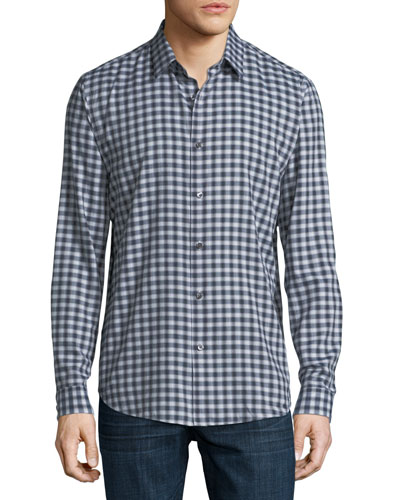 Clean Flannel Sport Shirt