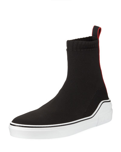 George V High-Top Sock Sneaker