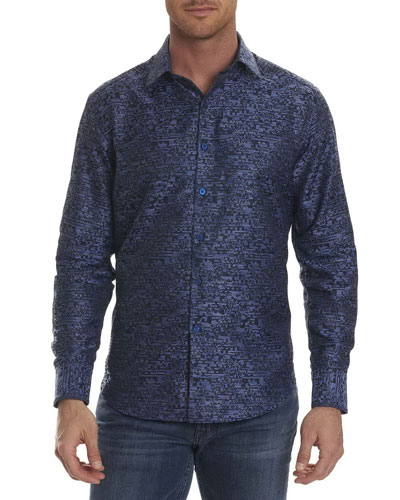 Tern Digital-Textured Sport Shirt