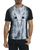 Rams Head Graphic T-Shirt