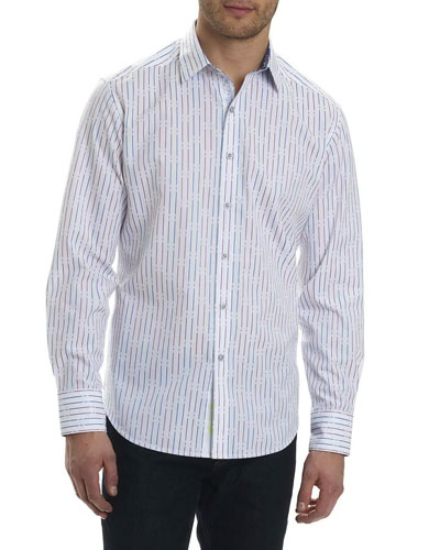 Bora Striped Sport Shirt