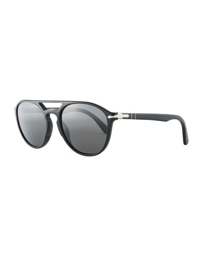 PO3170S Acetate Pilot Sunglasses