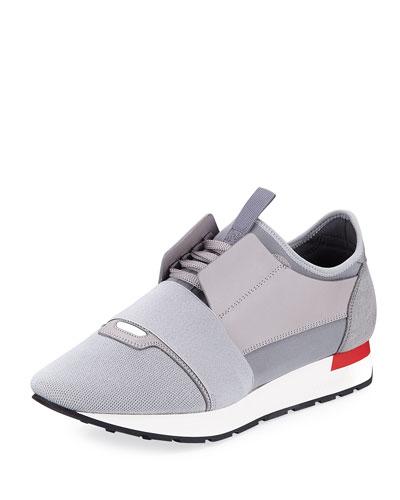 Knit Low-Top Sneaker