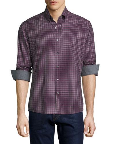 Bodi Check Slim-Fit Sport Shirt