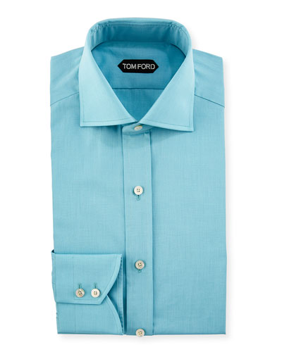 End-on-End Cotton Dress Shirt