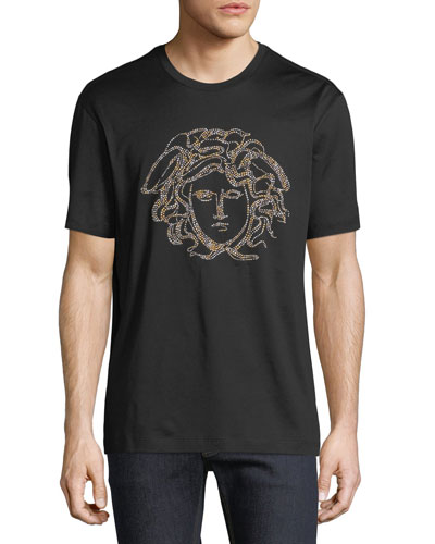 Beaded Medusa T-Shirt