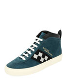 Vita Retro High-Top Sneaker