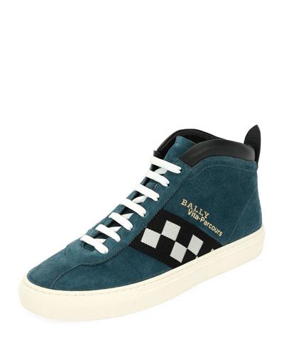Vita Retro High-Top Sneaker