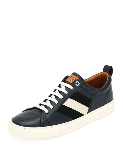 Helvio Low-Top Leather Sneaker