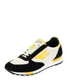 Gavino Retro Leather Running Sneaker