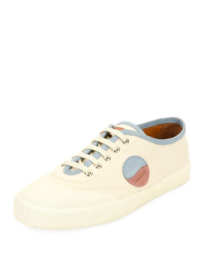 Silo Retro Low-Top Canvas Sneaker