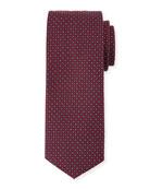 Neat Circle Silk Tie