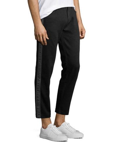 Men's Eli Straight-Leg Ankle Jeans