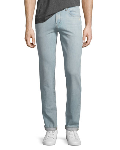 Men's Tyler Taper Slim-Fit Jeans, Intertidal