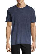 Camouflage-Print Crewneck T-Shirt