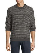 Broken-Stripe Sweatshirt