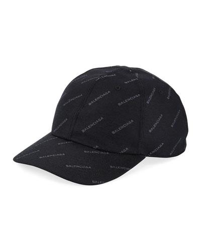 Quick Look. Balenciaga · Logo Baseball Cap ... edbef4ab80d8