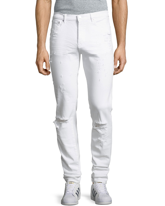 Rico-Fit Destroyed Denim Jeans