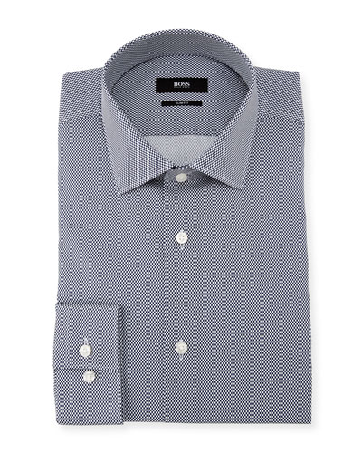 Ismo Dot-Print Dress Shirt