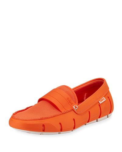 Stride Bands Slip-On Loafer, Orange
