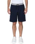 Forever Fendi Striped Sweat Shorts