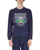 Tiger-Graphic Sweatshirt