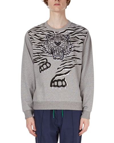 Tiger Claw-Graphic Sweatshirt