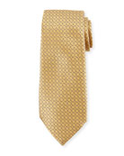 Connected Diamond Silk Tie