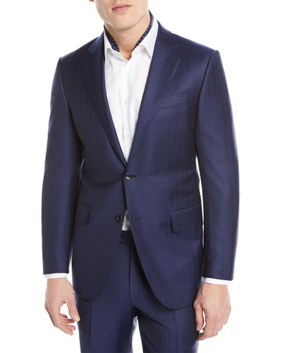 046816f4ae765 Quick Look. Ermenegildo Zegna · Twin Striped Trofeo® Wool Two-Piece Suit