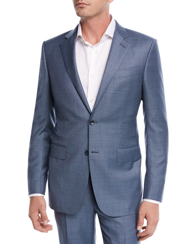 775b7ed38f501 Quick Look. Ermenegildo Zegna · Sharkskin Wool Two-Piece Suit