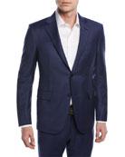 Ermenegildo Zegna Tonal Plaid Trofeo� Wool Two-Piece Suit