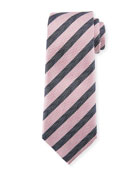 Chevron Stripe Silk Tie