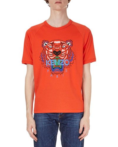 Logo Tiger-Graphic Short-Sleeve T-Shirt