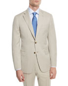 150s Wool Herringbone Super Two-Piece Suit