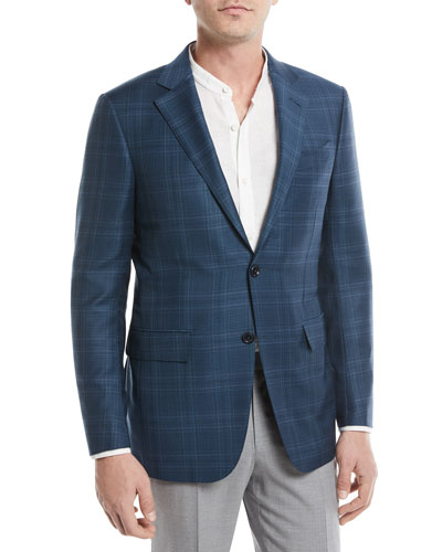 Plaid Trofeo® Wool Sport Coat