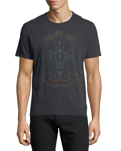 Guns N' Roses Faded Graphic T-Shirt