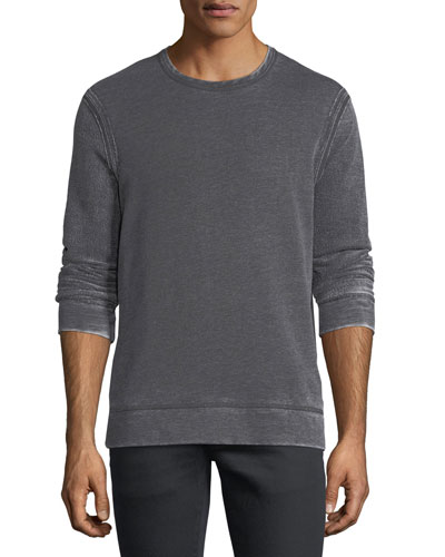 Exposed Seam Long-Sleeve Sweatshirt