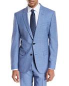 Melangé Wool Two-Piece Suit