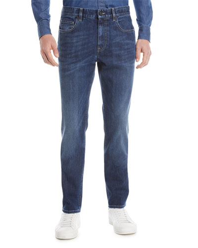 Slim-Fit Denim Jeans