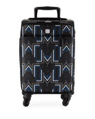 MCM Gunta Travel Trolly/Rolling Carryon Suitcase