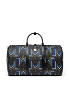 Gunta Logo-Print Weekender Bag