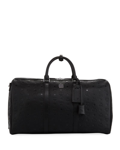 Ottomar Men's Embossed Weekender Bag