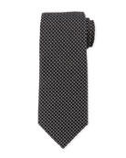 Box-Pattern Silk Tie