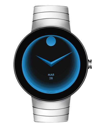 46.5mm Men's Connect Smartwatch w/ Bracelet Strap