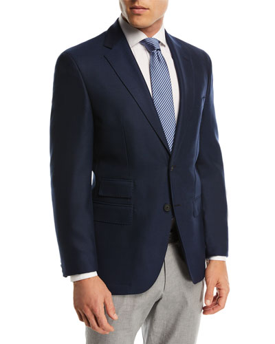 Jets Solid Micro Wool Travel Jacket