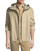 Tactic Hooded Zip-Up Jacket