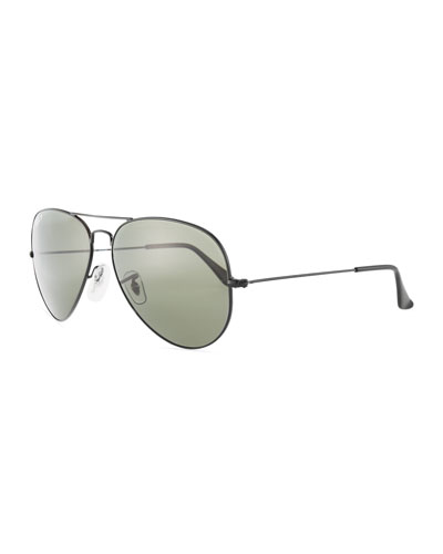 Metal Aviator Sunglasses